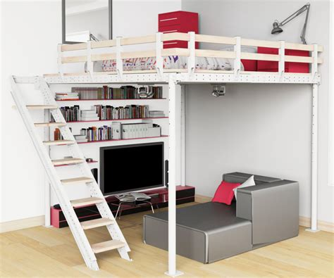 Modern Loft Beds For Adults With Stair Modern Loft Beds For Adults Ideas Editeestrela Design