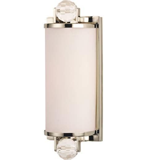 Hudson Valley Bathroom Lighting Hudson Valley 491 Pn Prescott Polished Nickel 1 Light Bath Vanity Light Ls