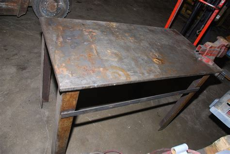 welding bench top 48 quot x 24 quot x 32 quot welding table 0 75 quot top w craftsman