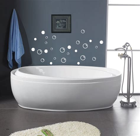 amazing interior for bathroom ideas with bubles wall