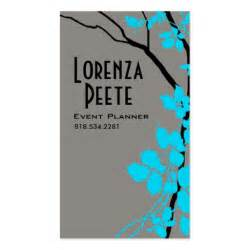 Event Planner Business Cards Templates Creative Branches Event Planner Zazzle