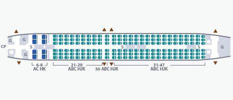 layout seat garuda seat map garuda indonesia