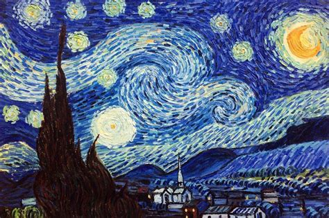 wordlesstech starry night by vincent van gogh vincent van gogh starry night hand painted oil painting