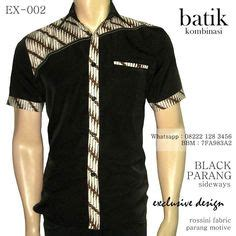 On Sale Kemeja Denim Ethnic Afdel mavazi menswear indonesia pattern royal javanese batik