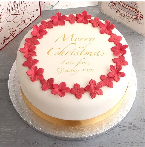 edible christmas cake decorations australia