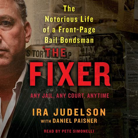the fixer books the fixer audiobook by ira judelson for just 5 95