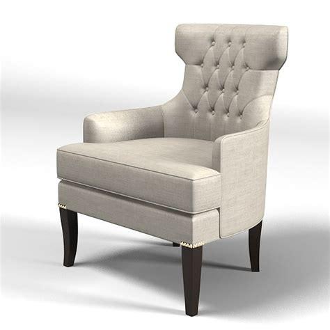 armchair design classic 3d model modern classic art