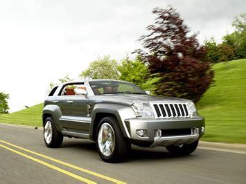 jeep sedan concept chrysler 20 years of concept cars car design