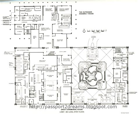 disney world floor plans polynesian great ceremonial house plans 1st floor walt