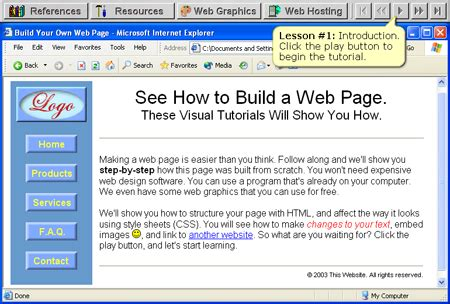 html tutorial web page design 10 video tutorials for learning basic web design skills