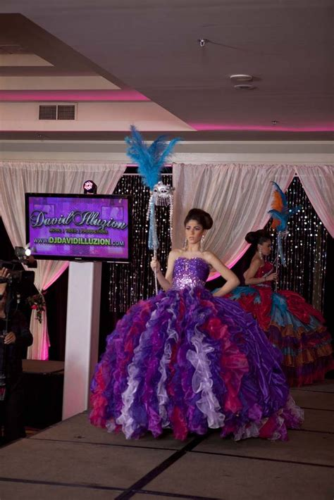 quinceanera mask themes photos quinceanera com expo and fashion show in