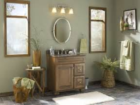 Allen Roth Bathroom Vanity Lights Nature Inspired Bathroom With Mixed Materials Tropical