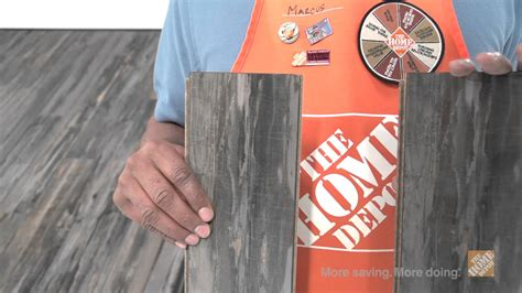 bruce mineral wood laminate flooring  home depot youtube