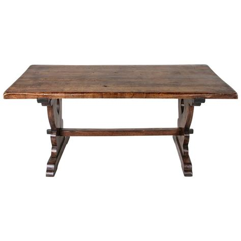 small scale monastery dining table of solid