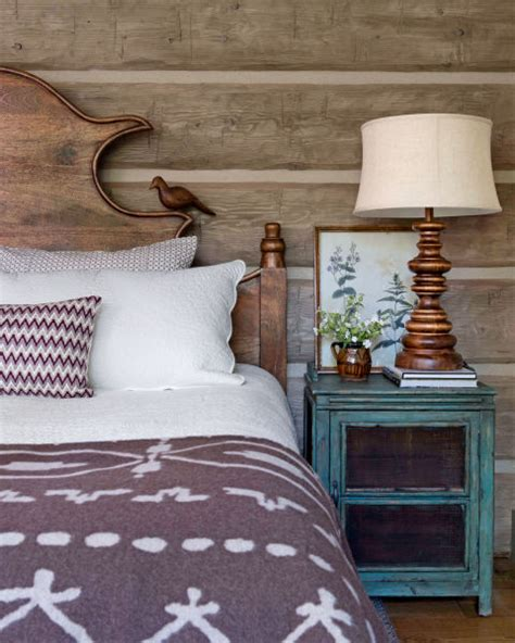 claudette headboard wyoming log cabin cozy log cabin decorating ideas