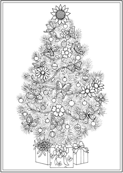 victorian christmas tree coloring page 434 best seasonal coloring pages images on pinterest