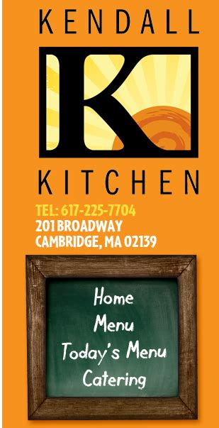 Kendall Kitchen Menu by Kendall Kitchen Home