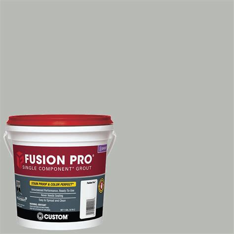 custom building products grout colors custom building products fusion pro 546 cape gray 1 gal