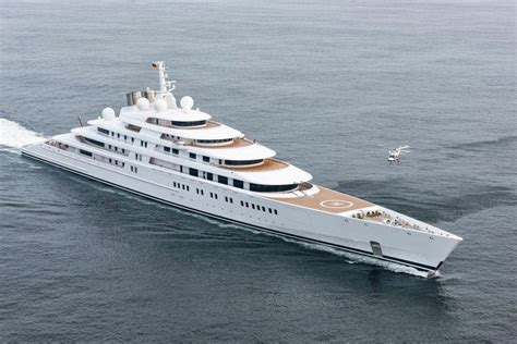 luxury notebook azzam  largest private yacht   world