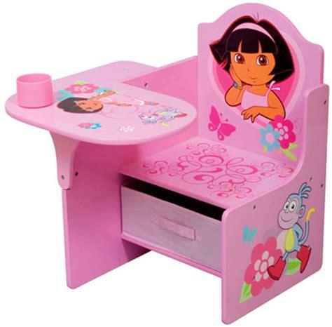 dora the explorer toddler desk chair girls pink bedroom dora the explorer furniture roselawnlutheran