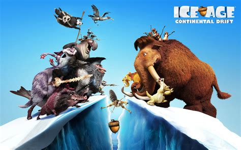 ice age 4 continental drift wallpapers hd wallpapers