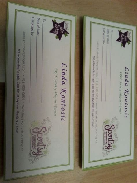 Scentsy Gift Card - scentsy gift certificates scentsy pinterest