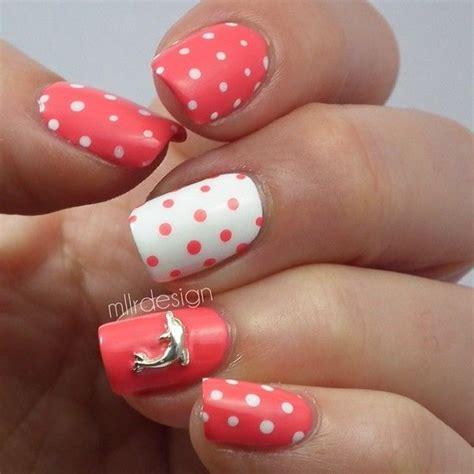 imagenes de uñas pintadas en color rosa 75 creativos dise 241 os de u 241 as decoradas con puntos f 225 ciles