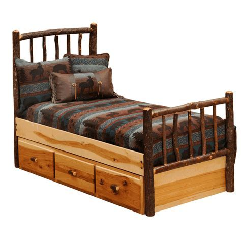 Hickory Underbed 3 Drawer Dresser   Twin/Full
