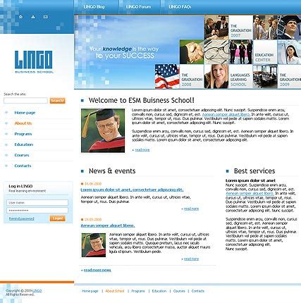 university website templates university website template id 300110210 from simavera com