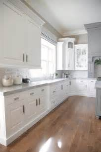White Kitchen Ideas Pinterest by Kitchen Gray Island White Cubic Range Hood View Kitchens