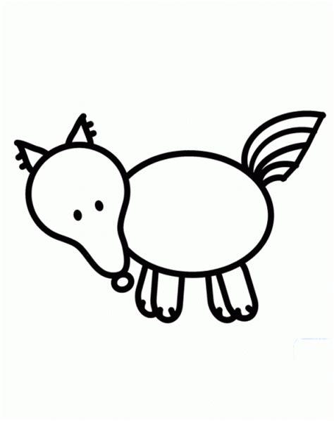 imagenes para dibujar de zorros zorro dibujos y juegos para pintar y colorear