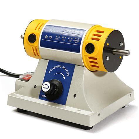 bench grinder polishing kit polishing machine for dental jewelry motor lathe bench