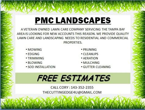 blank lawn care flyers dolap magnetband co