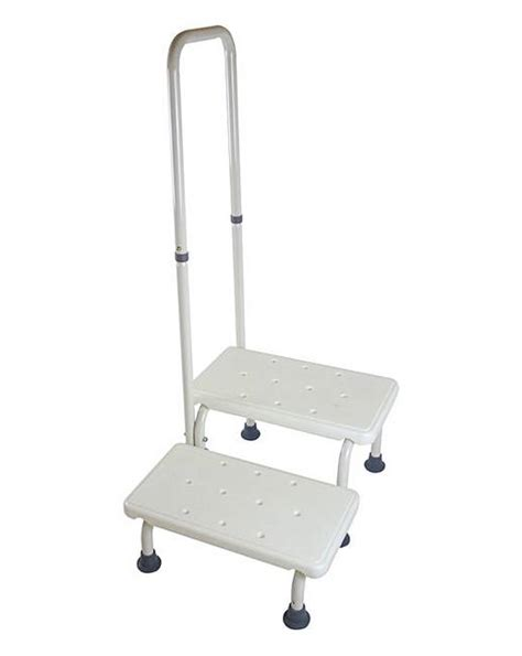 Two Step Step Stool With Handrail by Step Stool With Handrail Oxendales