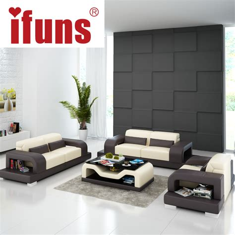 popular living room furniture compare prices on sofa leather white online shopping buy