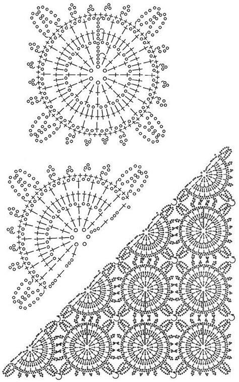 Crochet Shawl Pattern Crochet Wrap With Pineapple Motif crochet shawls