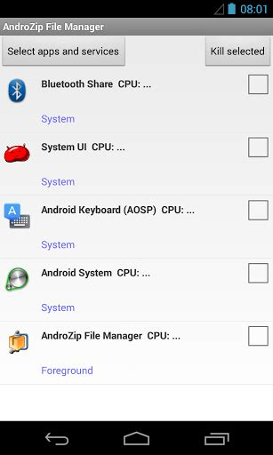 androzip apk androzip file manager apk for android