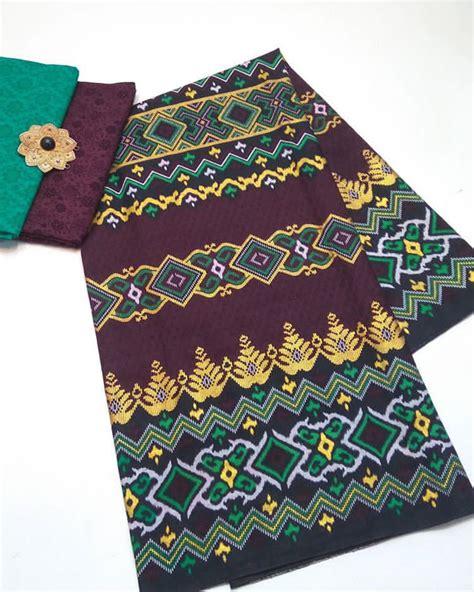 1 Set Kain Batik Print Prada Dan Embos 2 kain embos batik pekalongan by jesko batik