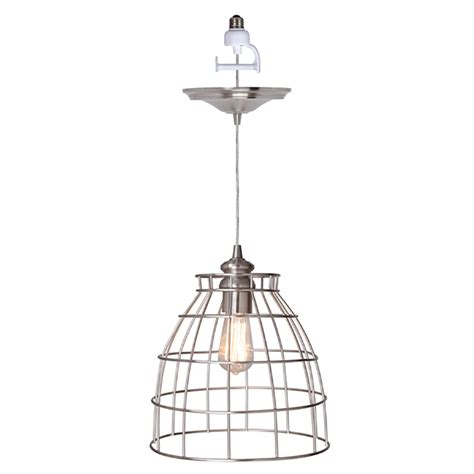 pendant lighting for recessed lights instant pendant series 1 light brushed nickel recessed