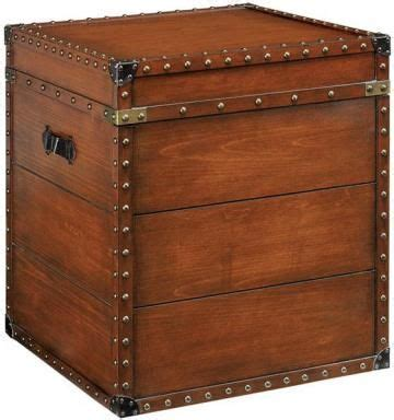 living room trunk table 22 25 quot square steamer trunk end table complement your rustic living room decor with this end