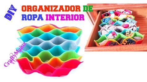 como guardar ropa interior haz un organizador de ropa interior manualidades f 225 ciles