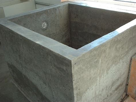 concrete tub diy diy concrete projects pinterest