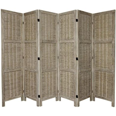 western room dividers 67 quot x 85 quot bamboo tree matchstick woven 6 panel room divider trees room dividers and bamboo