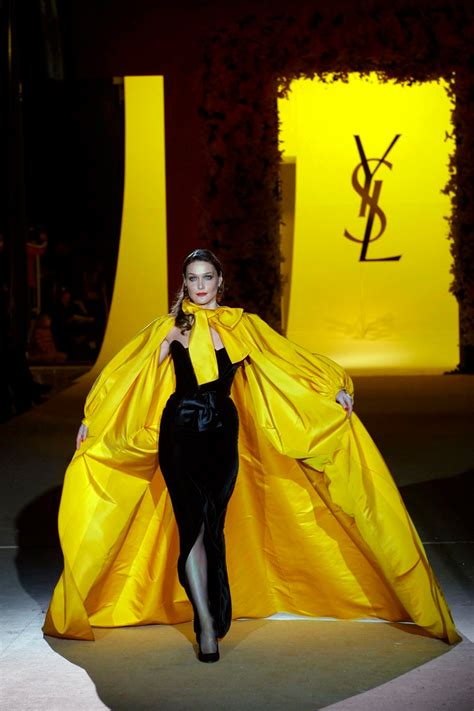 Haute Historian From To Laurent The New Look And The New New Look Second City Style Fashion by Laurent Couture Collection Show Hedi Slimane S