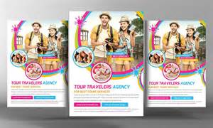 Tour Flyer Template by Tour Travel Flyer Template Flyer Templates Creative Market