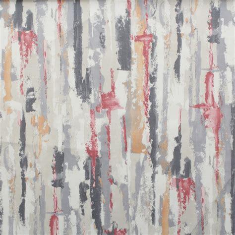 paris print curtains watercolour paris brush stroke panama print curtain blinds