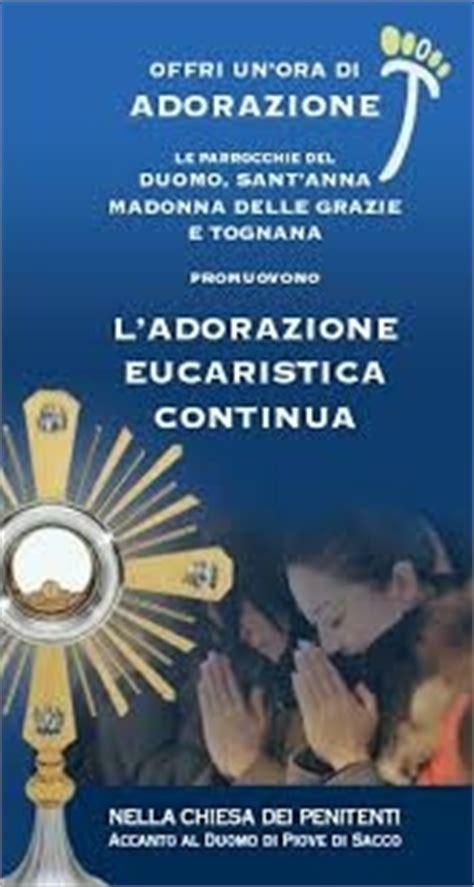 testi adorazione eucaristica adorazione eucaristica duomo di piove