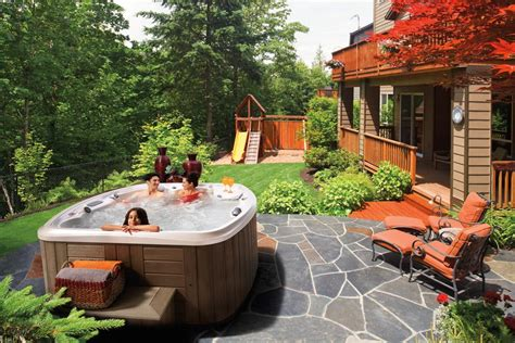 hot tub backyard design ideas hot tubs backyard design ideas