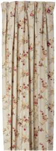 Patio Door Pinch Pleated Drapes Fireside Floral Pinch Pleated Patio Door Thermal Insulated Drapes 96 X 84 Quot Free Shipping