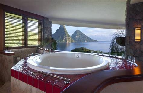 sanctuary bathrooms reviews jade mountain sanctuary bathrooms have a view too